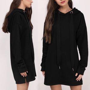 NWOT: Black TOBI Oversized Dress Hoodie